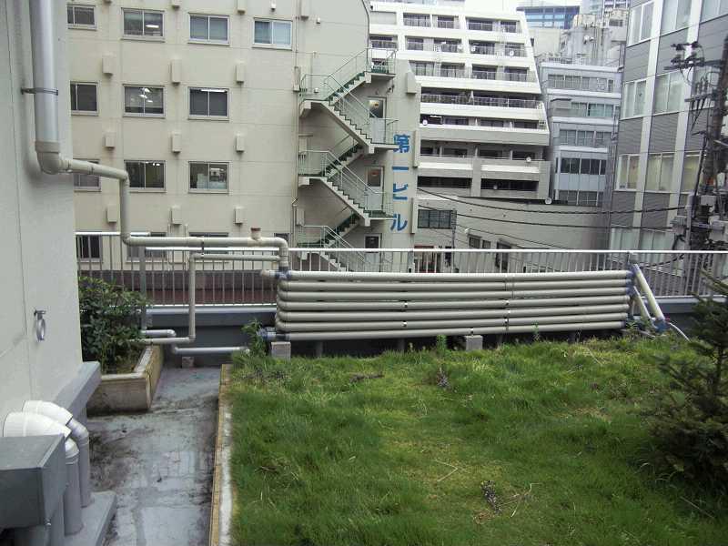 ↪自作施工雨水タンクⅠ 屋上