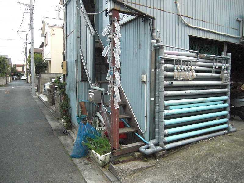 ↪雨水タンク自作Ⅱ 手摺型