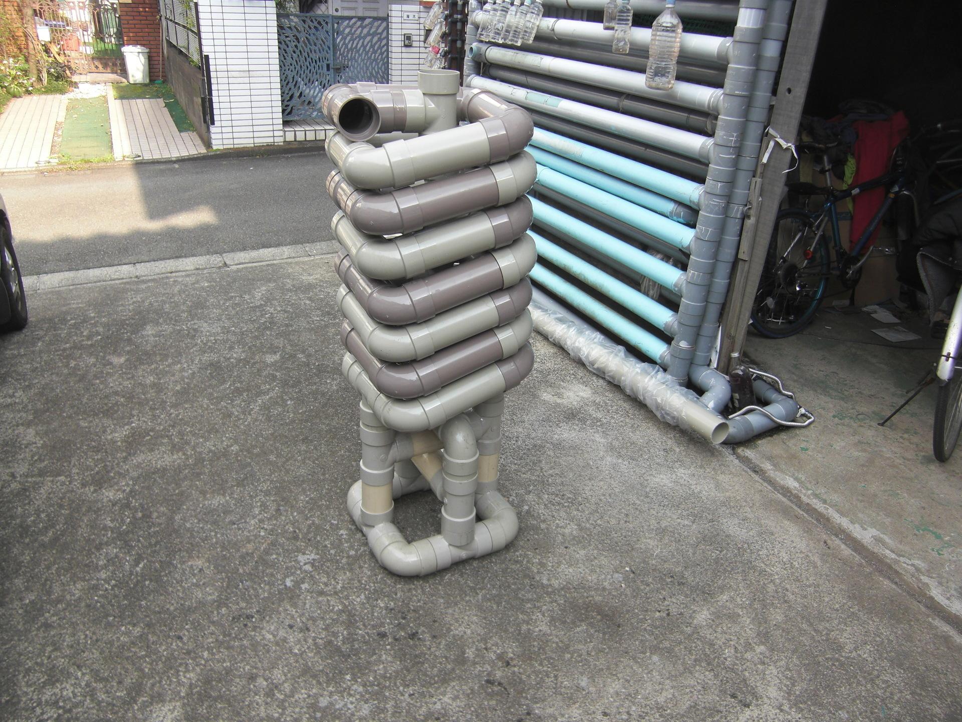 ↪雨水タンク自作Ⅷ 階段下用